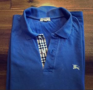 Men's Burberry Classic Fit Polo- Large for Sale in Saugus, MA