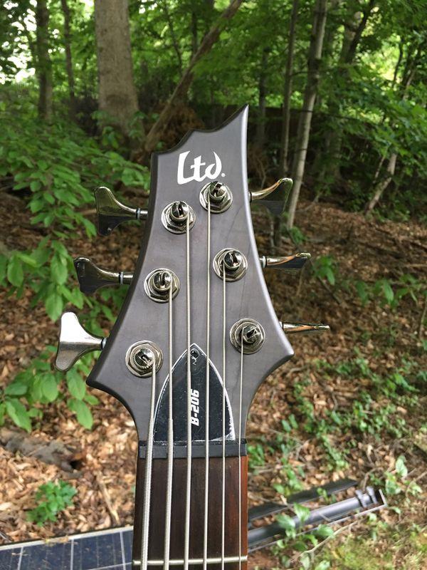 LTD B-206 6string bass guitar