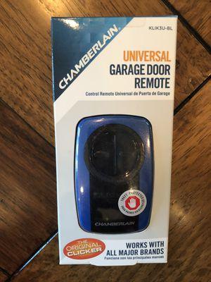 CHAMBERLAIN CLICKER GARAGE DOOR OPENER REMOTE MODEL KLK3U-BL - NEW IN BOX !! for Sale in Newport Beach, CA