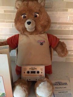 "Vintage 1985 Worlds of Wonder, 20"" Teddy Ruxpin Talking Bear, 1 Book & Tape for Sale in Scottsdale, AZ"