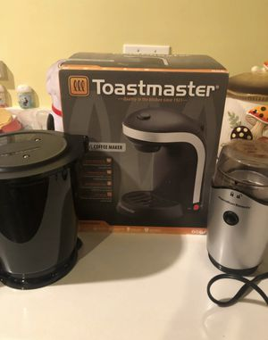 Toastmaster single serve coffee maker etc for Sale in Hayward, CA