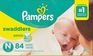 Pampers newborn swaddlers for Sale in Philadelphia, PA