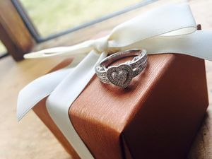 Kay's Jewelers heart shaped promise ring for Sale in North Haven, CT
