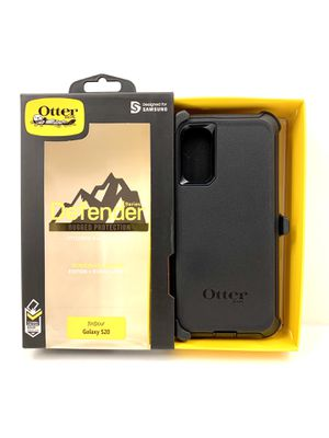 OTB Case for Galaxy S20 - OtterBox Defender Series. Belt Clip & Holster. Black Color. for Sale in Riverside, CA