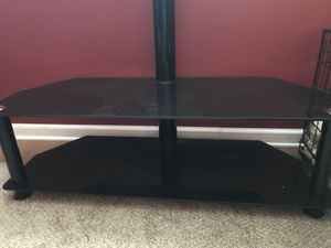 Glass tv stand for Sale in Mount Carmel, TN