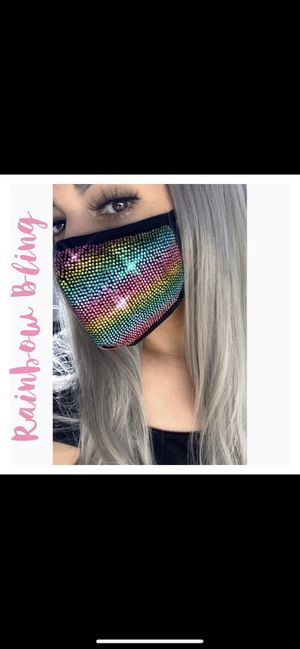 Rainbow multicolor face mask for Sale in Fresno, CA