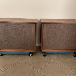 Vintage Altec Lansing 604E Super Duplex speakers with original N-1500A crossovers for Sale in Escondido, CA