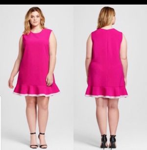 👗👗💞Victoria Beckham Pink Dress size 1X💞👗👗 for Sale in Silver Spring, MD