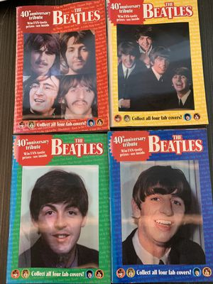 40th anniversary tribute The Beatles Globe Special Digest Complete Set of 4 for Sale in Fishers, IN