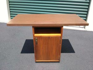 Small Server w/Bottom Cabinet - Great for a Printer, TV Stand! for Sale in Raleigh, NC