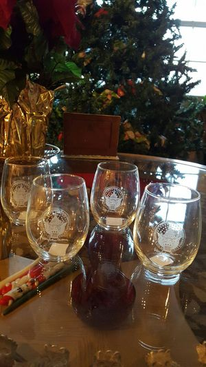 Collectible - Hillary Clinton Inauguration Stem-less Wine Glasses - 4 Set - BRAND NEW for Sale in Waldorf, MD