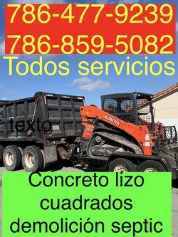 Bobcat Excavadora Mini Excavator And Volteo.)✅(((.demolición Servic ios.)))✅✅✅.!!!. for Sale in Miami,  FL