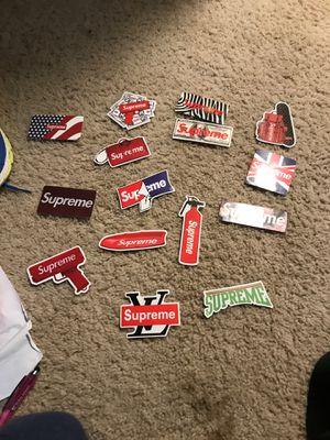 Supreme stickers for Sale in Bellevue, WA