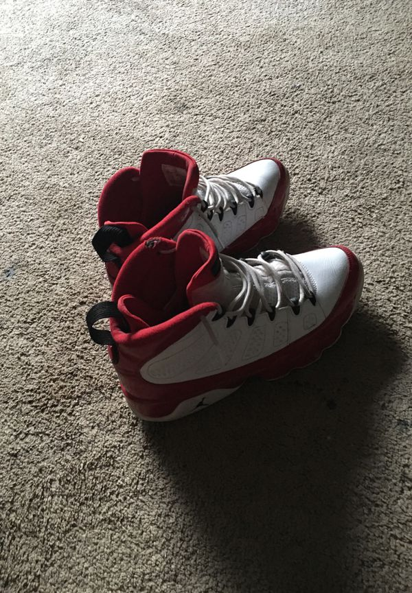 White and red nines
