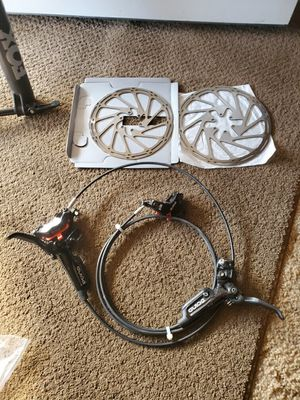Mountain bike piston breaks and rotara for Sale in Fresno, CA