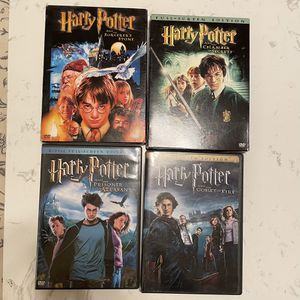 Harry Potter 4 DVD Collection for Sale in Whittier, CA