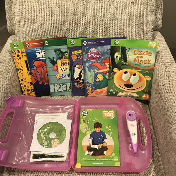 Leapfrog TAG learning system