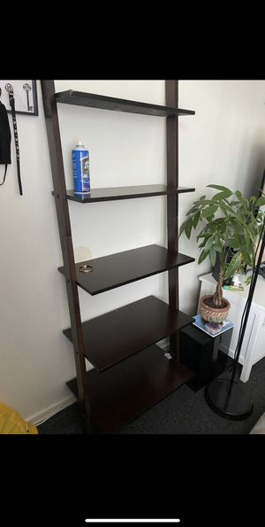 Like new ladder Shelf/organizer for Sale in Marina del Rey, CA