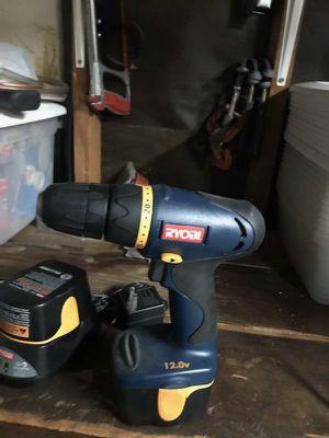 Ryobi 12v drill for Sale in Rancho Cucamonga, CA