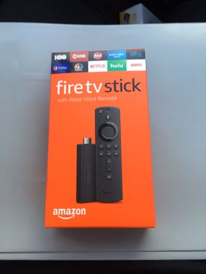 Amazon Fire TV Stick with Alexa Voice Remote for Sale in Grapevine, TX
