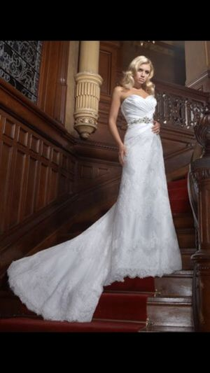 Wedding dress!! $500 Impression Bridal Dress size 8 for Sale in Houston, TX