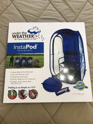 NEW - Under The Weather - INSTAPOD Pop up Tent Pod for Sports, Fishing, Hunting for Sale in Queen Creek, AZ