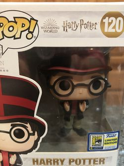 Funko POP Harry Potter Wizarding World 120 Official Exclusive Comic Con Brand New for Sale in Cerritos,  CA
