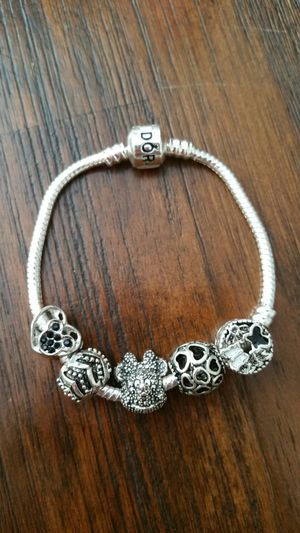 Bracelet with silver charms for Sale in Addison, IL