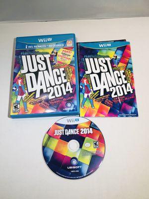 Just dance 2014 Nintendo Wii U for Sale in Long Beach, CA
