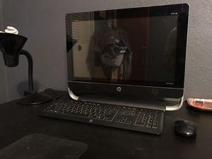 Hp intel touch screen desktop for Sale in Orlando, FL