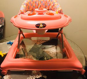 Baby girl walker new clean for Sale in San Leandro, CA
