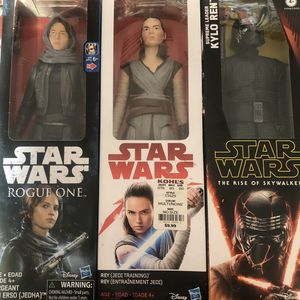 3 Star Wars action figures-$20 for Sale in Port Richey, FL