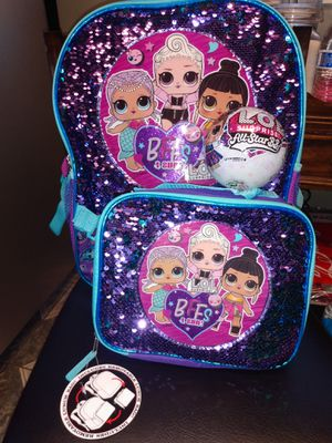 💕 LOL SURPRISE DOLL BACKPACK SET WITH 1 LOL SURPRISE ALL STAR DOLL💕 for Sale in Riverside, CA