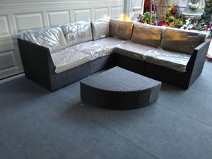 Outdoor patio sectional couch L shape sofa for Sale in Chatsworth, CA