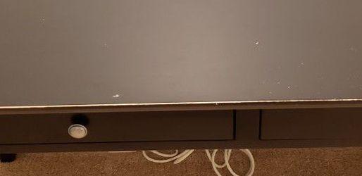 Black Wood Desk. for Sale in Kirkland,  WA