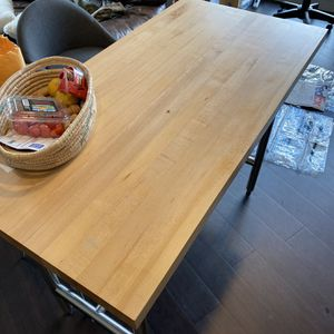 Butcher Block Table for Sale in Portland, OR