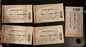 """Disney On Ice """"Mikeys Search Party"""" 12/12/19 at 7:30 pm for Sale in Upland, CA"""