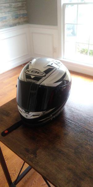 Kbc motorcycle helmet size meduim for Sale in Raleigh, NC