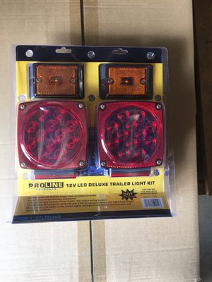 New led waterproof submersible trailer light trailer lights kit for Sale in Upland, CA