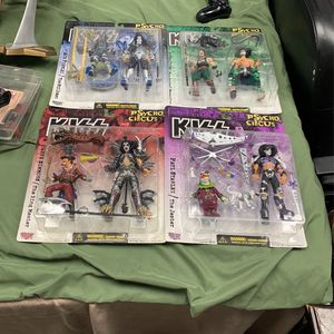 Mcfarlane Toys KISS Psyco Circus Complete Set Sealed for Sale in Norwalk, CA