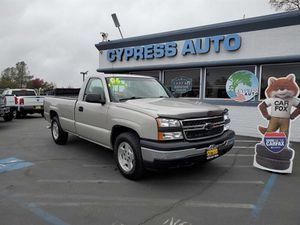 2006 Chevrolet Silverado 1500 Work Truck for Sale in Auburn, CA