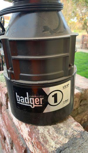 Badger garbage disposal for Sale in Selma, CA