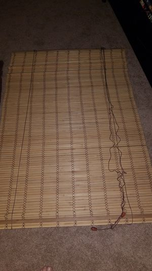 Bamboo blind set for Sale in St. Louis, MO