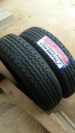 4 new Trailer tires 205/75/15..10 ply..load E for Sale in Palmdale,  CA