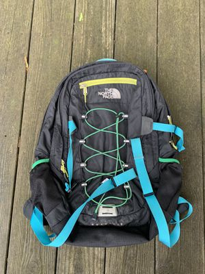The North Face Borealis Backpack Multicolor Black Rainbow Hiking Camp Beach for Sale in Salisbury, NC