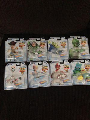 Toy story 4 hotwheels for Sale in Bellefonte, PA