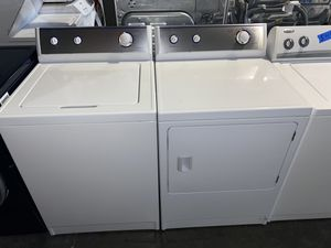 REFURBISHED TOP LOADING WASHER DRYER ELECTRIC SET for Sale in Vancouver, WA