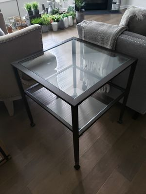 2 Metal/Glass End Tables for Sale in Spring Hill, TN