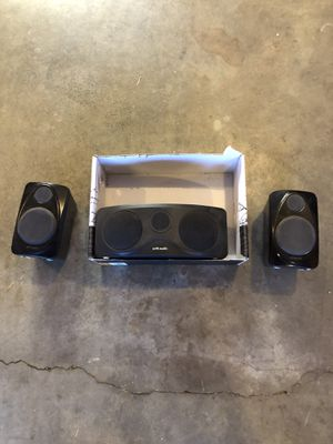 3 POLK AUDIO SPEAKERS. for Sale in Tualatin, OR