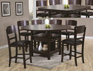 No credit needed 5 piece dining table set with expandable table for Sale in College Park, MD